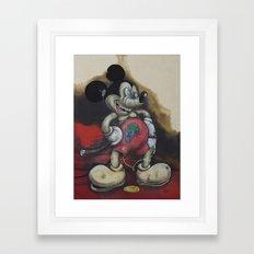 Tempus Fugit - Mr.Klevra- Framed Art Print