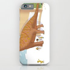 Book Dinossaur iPhone 6 Slim Case