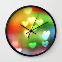 Love in Motion Wall Clock