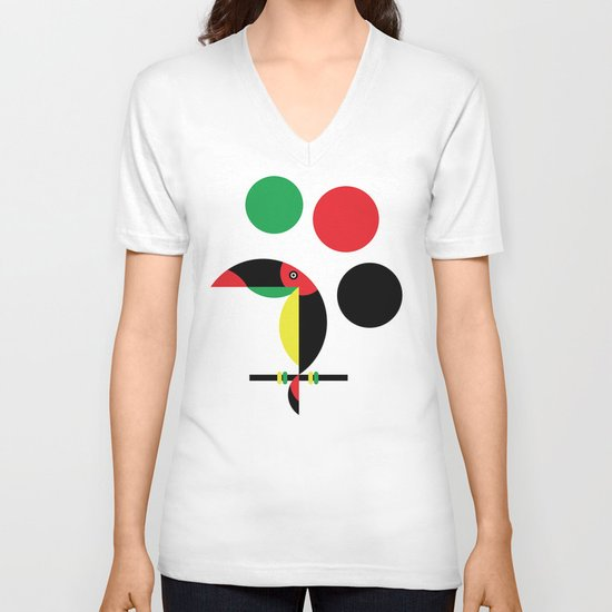 Tucan V-neck T-shirt