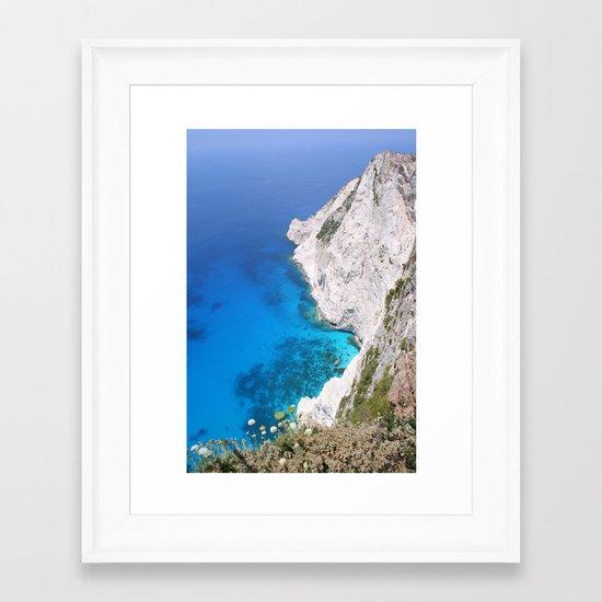 Kampi Cliffs Framed Art Print