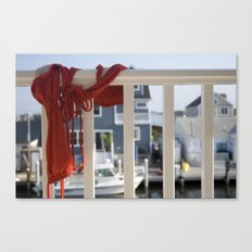 Line dry Canvas Print