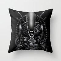The Passenger Throw Pillow