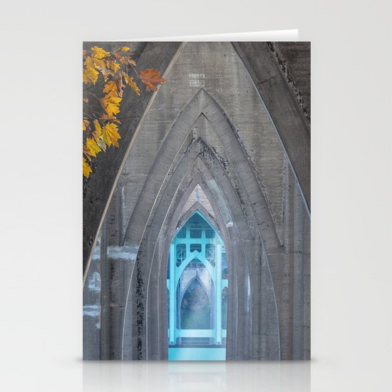 "Saint John's ""Cathedral"" Stationery Card"