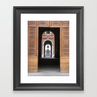 Europe Through My Mom's … Framed Art Print