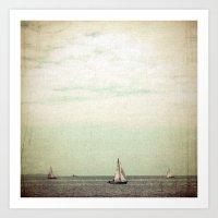 Sail Art Print