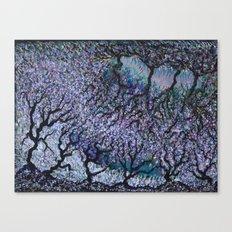 Olive Tree Fields Canvas Print