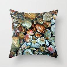 Sea shells  Throw Pillow