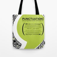 Punctuation [Appreciation]. Tote Bag