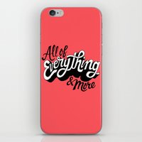 All of Everything  iPhone & iPod Skin