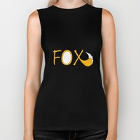 What Does The Fox Say  Biker Tank