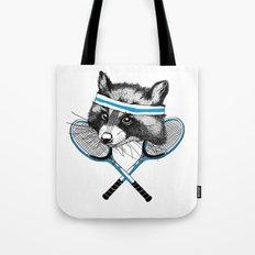 Little Raccoons Tennis Club Tote Bag