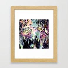 Swim Tonight Framed Art Print