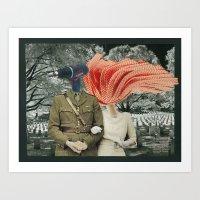 A Marriage Of Convenienc… Art Print