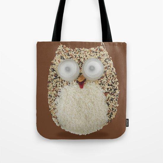 Specs, The Grainy Owl! Tote Bag