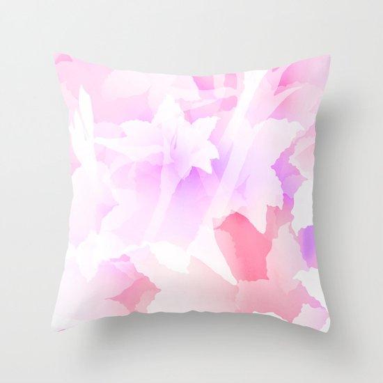 Sweet flowers Throw Pillow