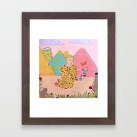 Jaguar Framed Art Print