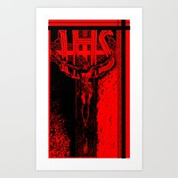 JESUS, HELP ME! Art Print