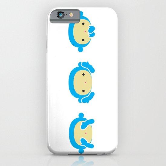 3 Wise Monkeys iPhone & iPod Case