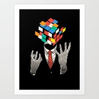 Mind Game Art Print