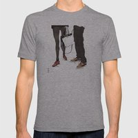 Mismatched, But Not Incompatible by Kat Mills Mens Fitted Tee Athletic Grey SMALL