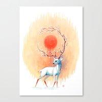 Spring Spirit Canvas Print