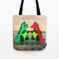 Dino Party at Sea Tote Bag
