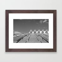 City of the Arts and Science, Valencia, Spain.  Framed Art Print