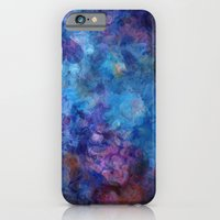 Blue Grotto Abstract Pai… iPhone 6 Slim Case