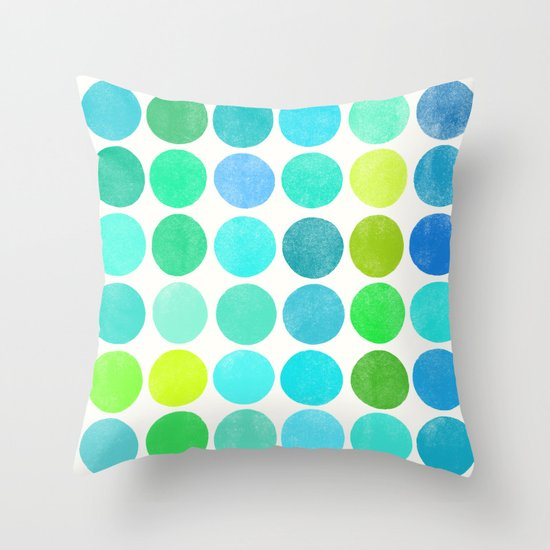 colorplay 10 Throw Pillow