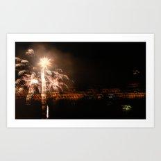Hazy Celebrations Art Print