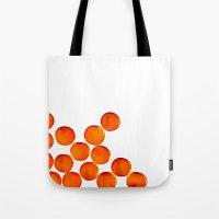 Crystal Balls Orange Tote Bag