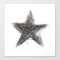 WRONG STAR Canvas Print