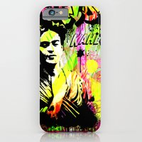 iPhone & iPod Case featuring Frida Kahlo by Zoé Rikardo