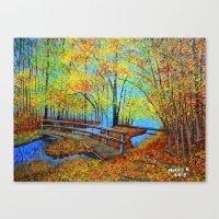 Autumn landscape 4 Canvas Print