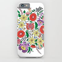 Hungarian embroidery motifs iPhone 6 Slim Case