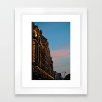 Harrod's Department Store London Framed Art Print