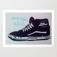 Off The Wall Art Print