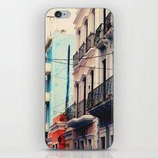 Colorful Buildings of Old San Juan, Puerto Rico iPhone & iPod Skin