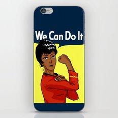 UHURA: WE CAN DO IT! iPhone & iPod Skin