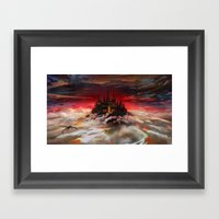 A World  Reborn With Mag… Framed Art Print