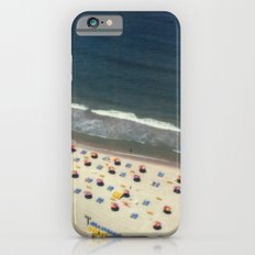 Tel-Aviv beach at summer, high from above, Israel, scaned sx-70 Polaroid iPhone 6s Slim Case