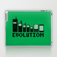 Cell Phone Evolution Laptop & iPad Skin