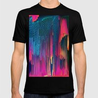 Party Puke  Mens Fitted Tee Black SMALL