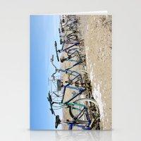 Bike Fence 2 Stationery Cards