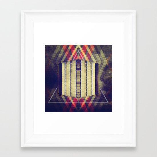 Argyle Turnstile Framed Art Print