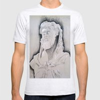Herakles Mens Fitted Tee Ash Grey SMALL