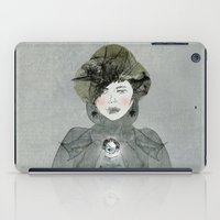 iPad Case featuring I have a secret by gwenola de muralt