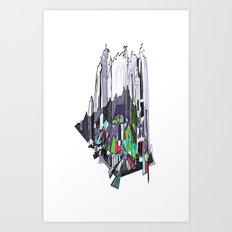 Outburst Art Print