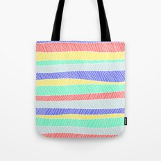 Beach Stripe 1 Tote Bag